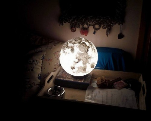 Мастер-класс по созданию светильника-ночника Луна