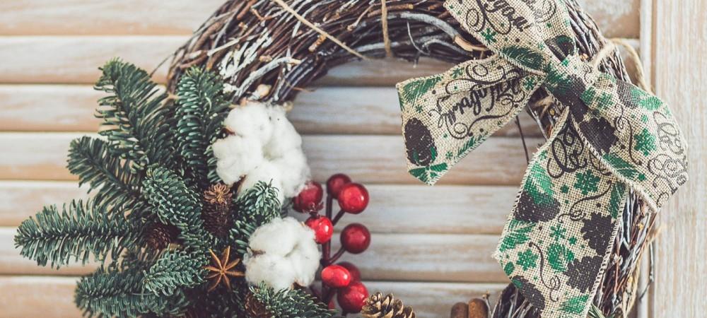 Мастер-класс по декору «Новогодний венок»