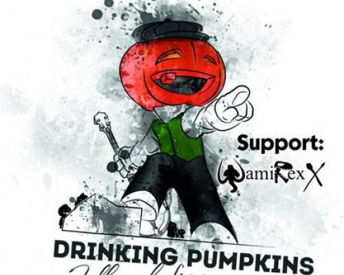 Drinking Pumpkins в Перми, рок-вечеринка.