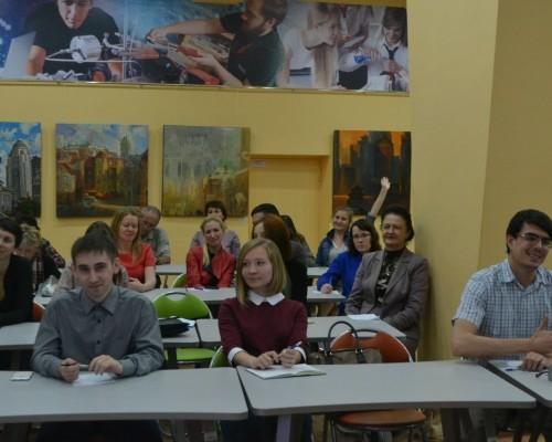 Школа делового общения и ораторского мастерства, встреча клуба