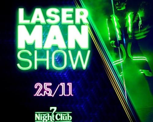 LASER MAN, вечеринка в клубе Семь