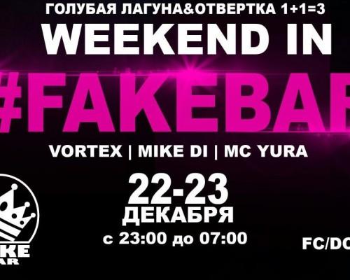 Weekend in Fakebar, вечеринка.