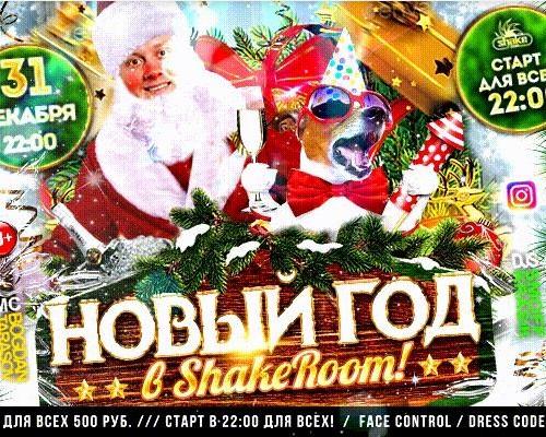 Новый год в Shake Room