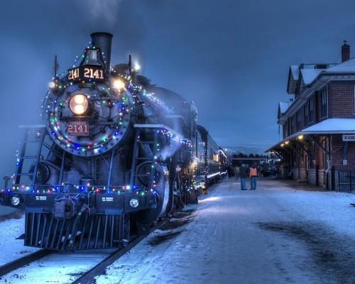 Новогодняя экскурсия на ретро-поезде