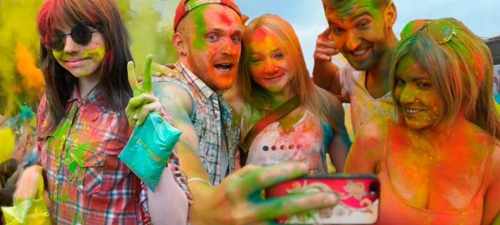 Фестиваль Красок в Перми