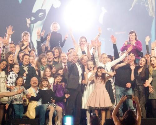 Хор Турецкого, концерт на Эспланаде в Перми