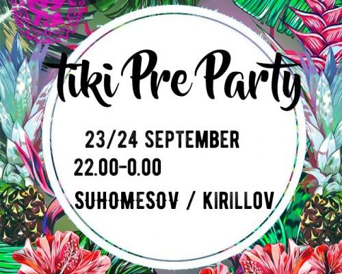 Tiki Pre Party