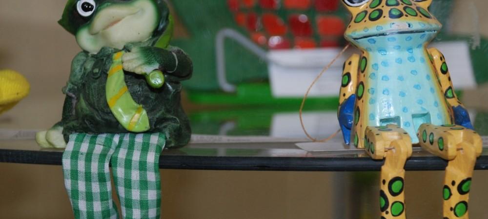 В Перми открылась выставка лягушек