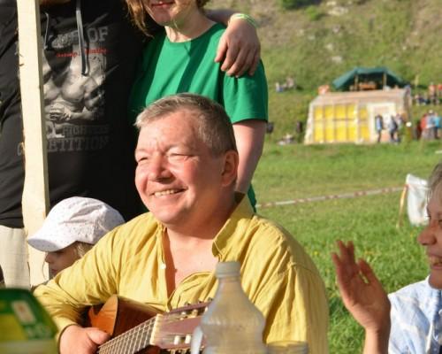 Алексей Корягин, концерт в Бард-Кафе.