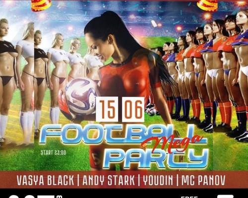FOOTBALL PARTY, вечеринка в М5