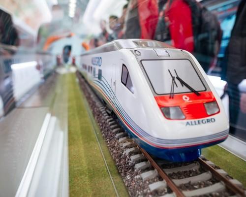 Экскурсия по выставочному поезду РЖД