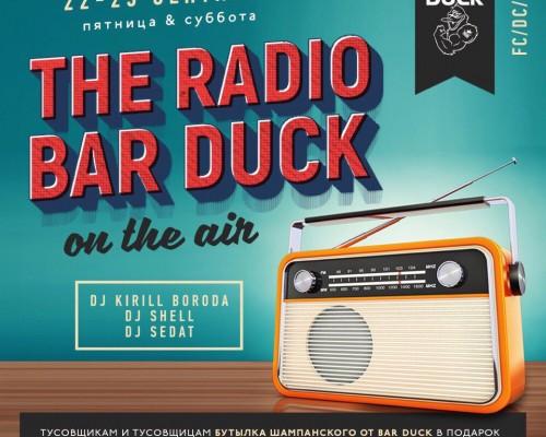 THE RADIO BAR DUCK ON THE AIR, вечеринка в Бардак в Перми