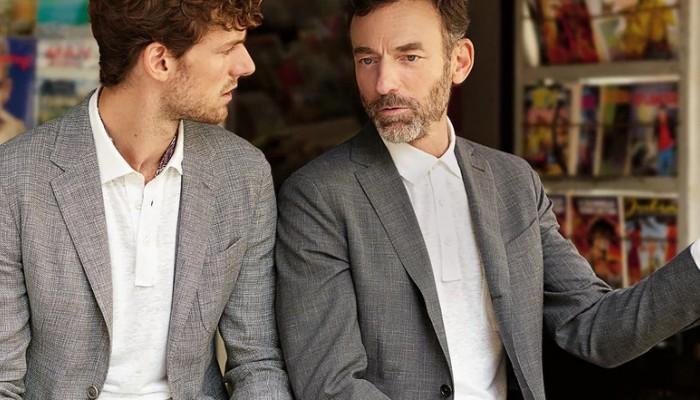 Ermenegildo Zegna, бутик мужской одежды.