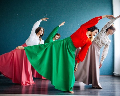 Contemporary Dance, открытый урок.